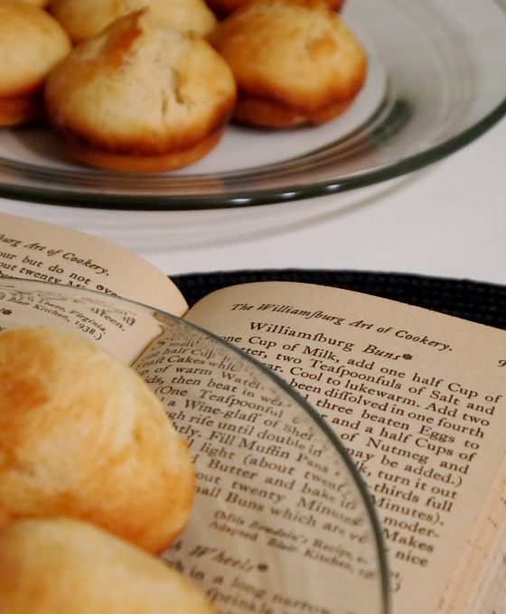 Vintage Recipe: Williamsburg Buns